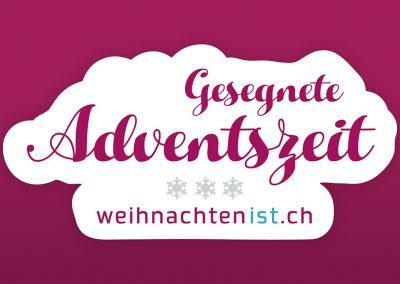 Gesegnete Adventszeit - weihnachtenist.ch