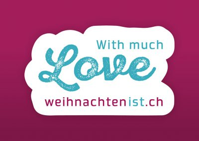 With much Love - weihnachtenist.ch